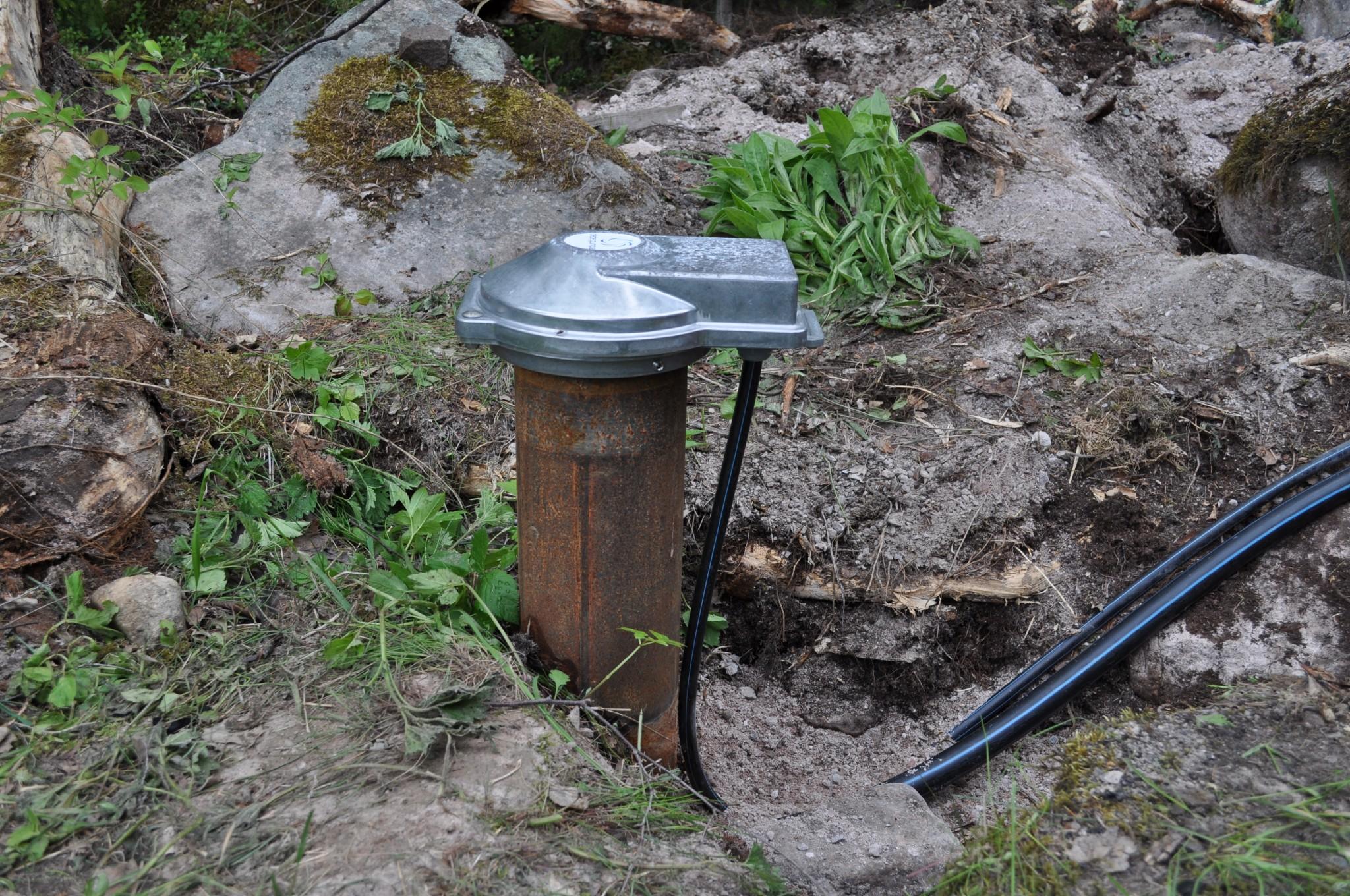 Vattenborrning