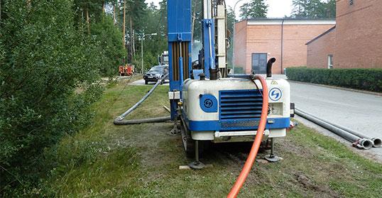 Värmepumpskonvertering Räddningsstationen - Bålsta, Håbo kommun